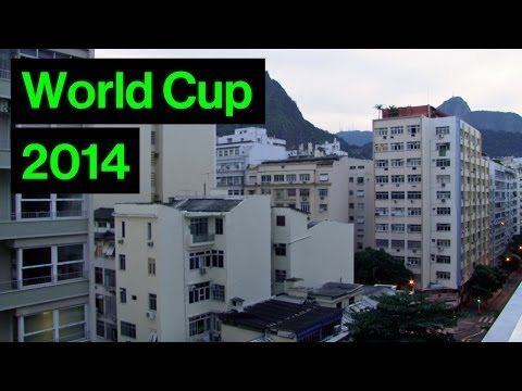 Incredible Sound Of Rio When Brazil Score In World Cup  Brazil 4-1 Cameroon