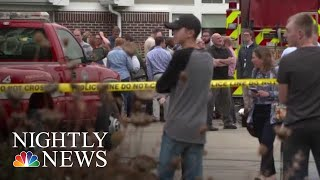Several Injured In Shooting At Wisconsin Workplace   NBC Nightly News