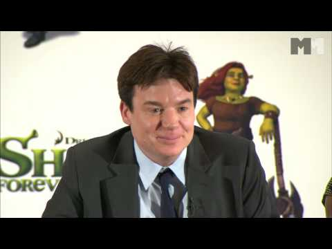 Shrek 4 | the cast talking about doing voices for kids (2010)