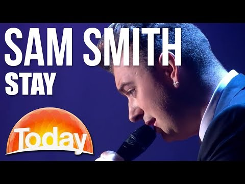 Sam Smith performs 'Stay'