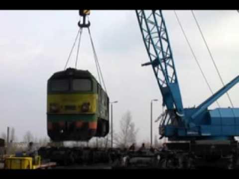 Przestawianie lokomotywy ST44-2010