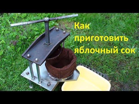 Производство яблочного сока в домашних условиях