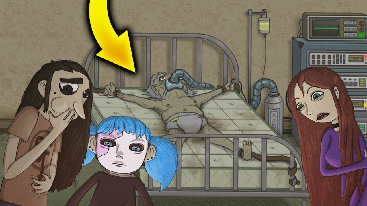 УЧИЛКА ОКАЗАЛАСЬ МАНЬЯКОМ в Sally Face эпизод 3 финал Салли Фейс полное прохождение