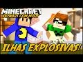 Minecraft: ILHAS EXPLOSIVAS! (SKYWARS C/ MODS PANDORA BOX)