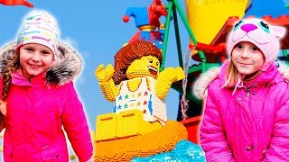 Legoland Amusement Park Family Fun Lego Toys for Kids play Area Children Activities VLOG
