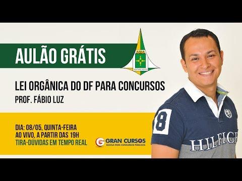 Aulão Grátis LODF para Concursos - Fábio Luz - Ao Vivo