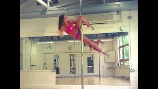 Pole fitness- cupid/Scorpio drop