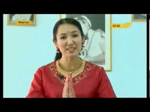 """Уроки индийского классического танца в программе """"Жаңа күн"""""""