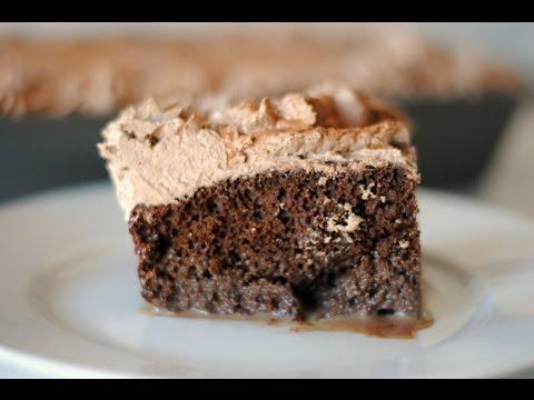Receta Para Hacer Torta o Pastel de Tres Leches de Chocolate - Colaboración Con Cookedbyjulie