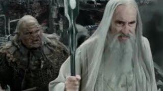 Saruman's DEMISE - Uruk-Hai fail at Helms Deep/ Fall of Isengard- LOTR