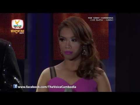 The Voice Cambodia - Live Show 1 - Bong Dork Oun Smer Son- Samuth Sreyka
