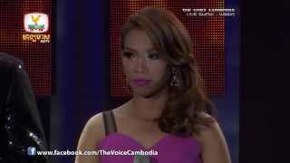 The Voice Cambodia - Live Show 1 - បងដកអូនស្មើសូន្យ- សាមុត ស្រីកា