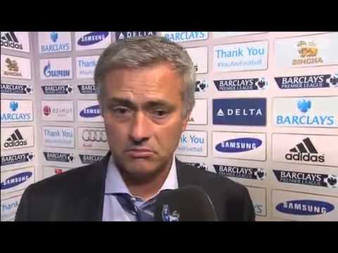 Jose Mourinho's reaction after Chelsea beat Aston Villa 2.1