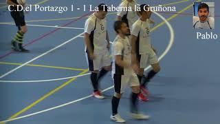 partido copa bronce C D El Portazgo vs Taberna la Gruñona 1 2 16 06 2018 1