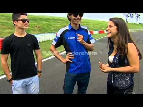 Programa Auto Esporte dia 24/03/2013 Valentino Rossi e Alex Barros