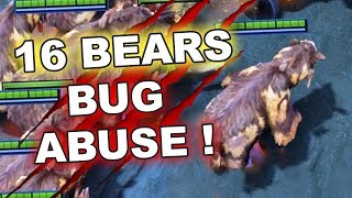 16 SPIRIT BEARS Clones - Game-Breaking 7.17 Dota 2 BUG!