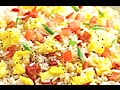 SIMPLE BACON AND EGG FRIED RICE RECIPE