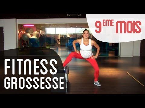 Fitness 9ème mois de grossesse
