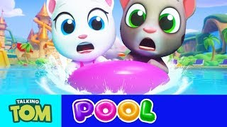 FUNNYS MOMENT GAMES FOR CHILDREN TALKING TOM POOL #10 Gameplay