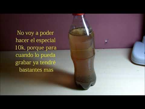 Leche y Coca-cola ¿Reacción? IMPRESIONANTE