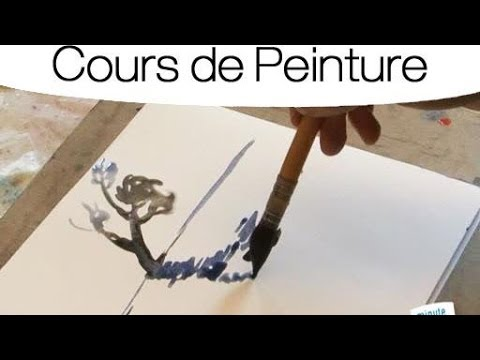 apprendre peindre un reflet l 39 aquarelle youtube. Black Bedroom Furniture Sets. Home Design Ideas