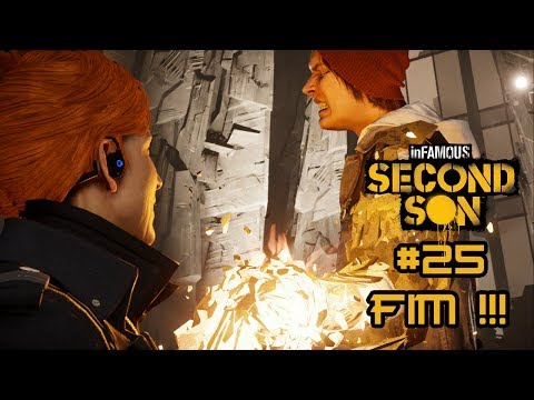 inFamous: Second Son #25 FIM BATALHA FINAL COM AUGUSTINE PS4 1080p HD Português PT