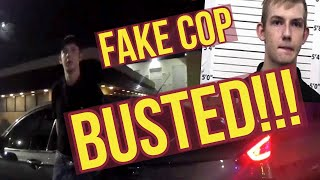 Fake Teen Cop Pulls Over Driver and Gets Arrested in New Mexico