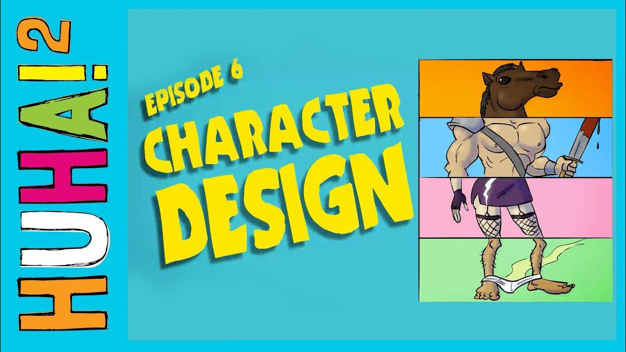 Ep 6 Character Design Happy Harry 39 S Huha Two How Tos Youtube