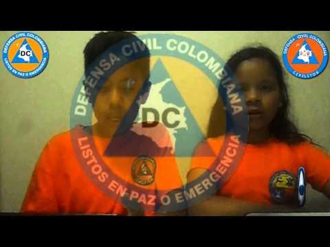SIMBOLOS INSTITUCIONALES DEFENSA CIVIL COLOMBIANA CIVILITOS DECICTV RADIO