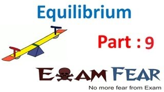 Chemistry Equilibrium part 9 (Examples) CBSE class 11 XI