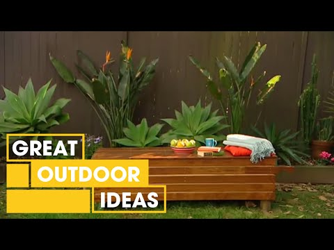 outdoor storage bench seat plans