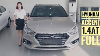 Đánh giá Hyundai Accent 1.4AT 2019 bản đặc biệt màu vàng be. Lăn bánh chưa tới 600 triệu.