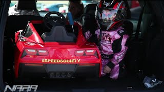 5yr old GIRL drives first standing Half-mile! / SPEED SOCIETY