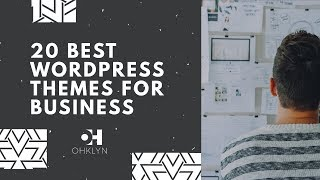 20 Best WordPress Themes for Business (2018)