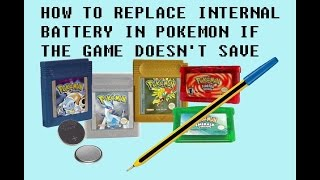 Fix Game Boy cartridge