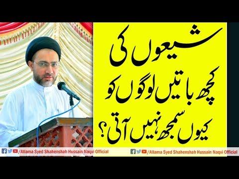 Social Media Par Aitraz Sawalo k Jawabat by Allama Syed Shahenshah Hussain