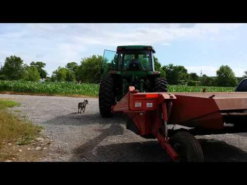 2000 John Deere 7210 Cab Heat and Air 110 HP Tractor