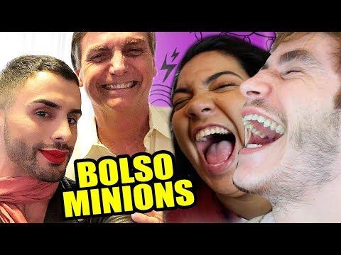 BOLSOMINIONS PASSANDO VERGONHA