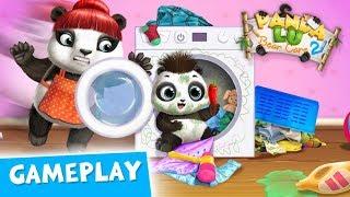 Care for a Tiny Panda 🐼 Panda Lu Baby Bear Care Gameplay   TutoTOONS Cartoons & Games for Kids