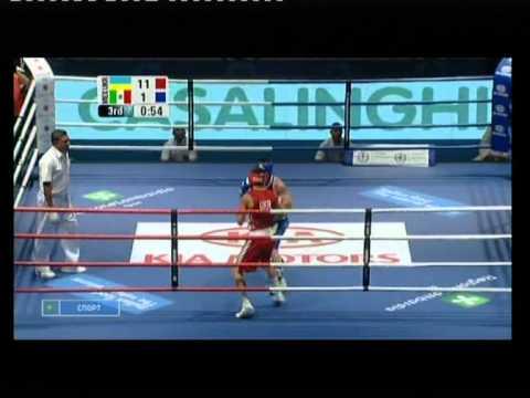 Ломаченко - Вальдес ЧМ 2009 бокс полуфинал часть 2