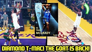 DIAMOND TRACY MCGRADY IS BACK! THE GOAT CARRIES THE SQUAD! NBA 2K18 MYTEAM SUPERMAX GAMEPLAY