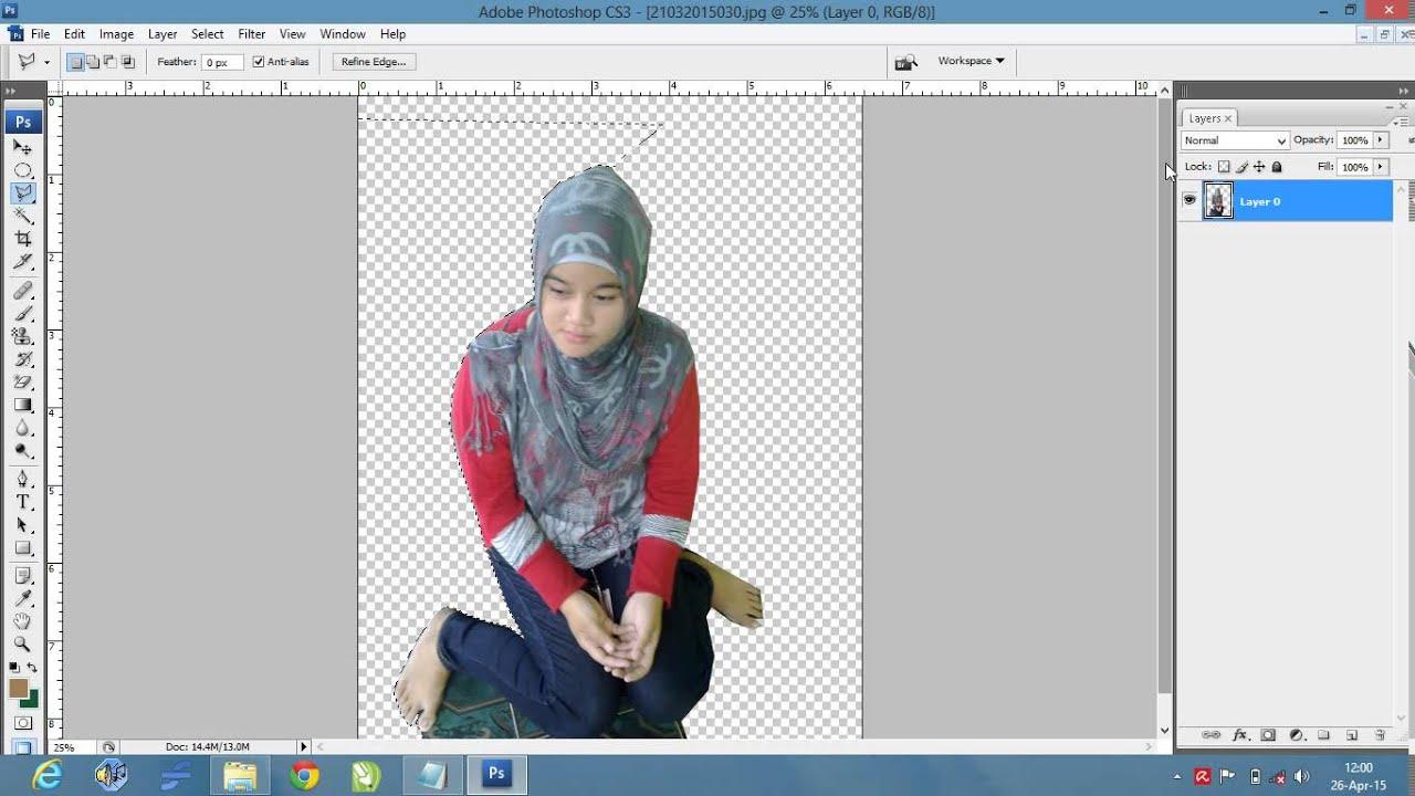 Cara menerangkan foto dengan photoshop cs2 62
