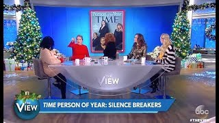 "Panel Discuss: Time Person Of The Year ""Silence Breakers"" #MeToo (The View)"