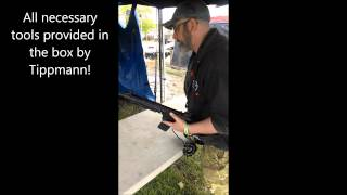 Geddons Games Review - Tippman Airsoft M4 CPX Sports - Living Legends 7 - May 2014