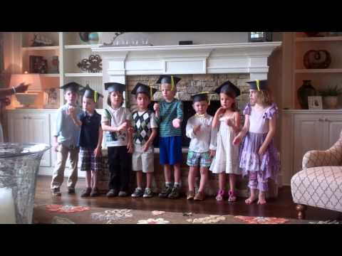 Cornerstone Kindergarten Graduation 2013 - One Small Voice
