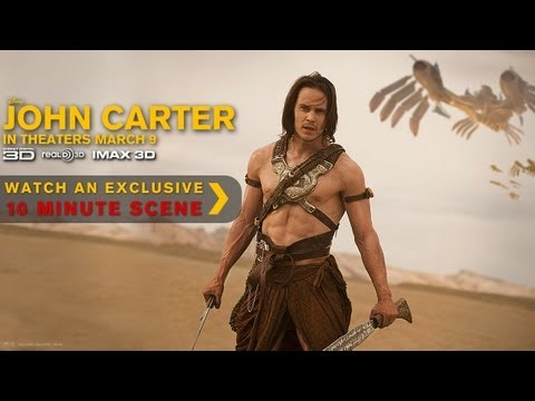 John Carter 10 Minutes Trailer