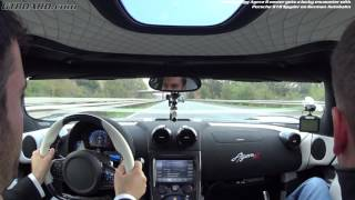[60fps] Koenigsegg Agera R owner HAMMERS it on German UNRESTRICTED Autobahn meet Porsche  918 Spyder