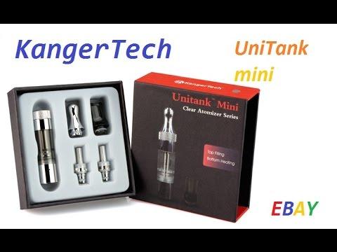 Распаковка посылки с Ebay (Kanger UniTank mini)