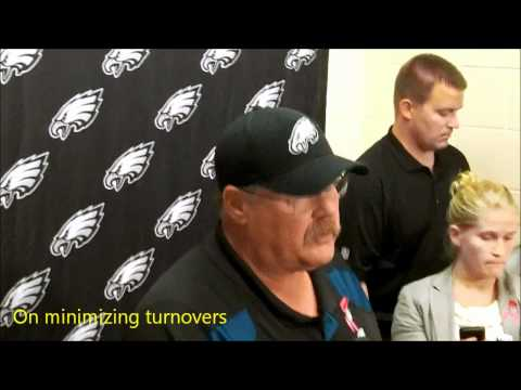 GPM Eagles Video: Andy Reid-Redskins postgame