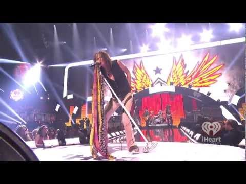 Aerosmith Mother Popcorn - Walk this Way Live iHeartRadio Music Festival 2012 1080p